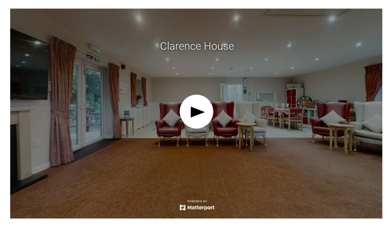Clarence House Virtual Tour on Matterport